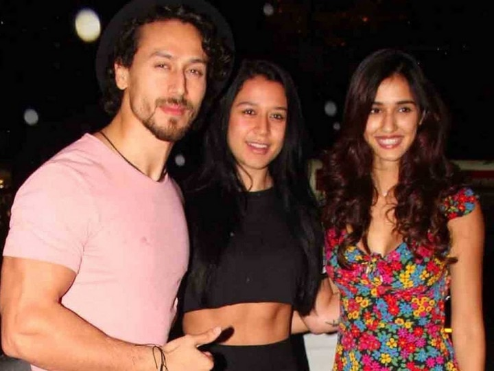 Disha Patani goes out on a drive with Tiger Shroff and her sister