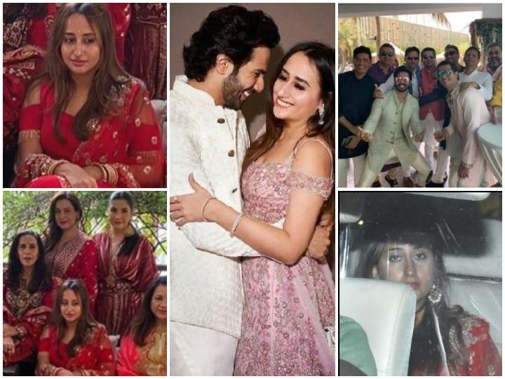 Varun Dhawan Nstasha Dalal Wedding First Inside Photo Goes Viral Over Social Media Varun Seems Crazy For The Celebration | Varun-Natsha Wedding: शुरू हुई रस्में, बचपन के प्यार से शादी कर बेहद