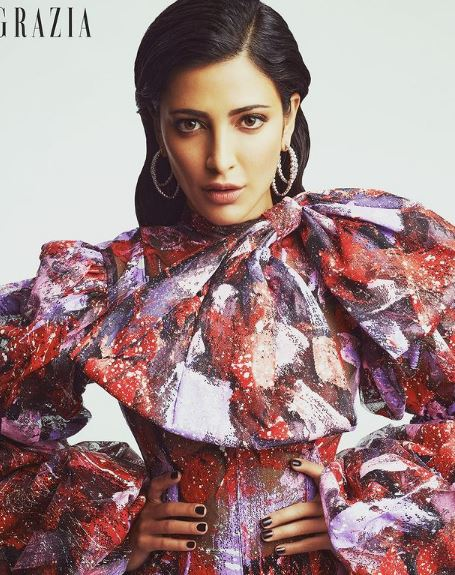 Happy Birthday- Shruti Haasan sang the song at the age of four, script written in 14, speaks more than 6 languages
