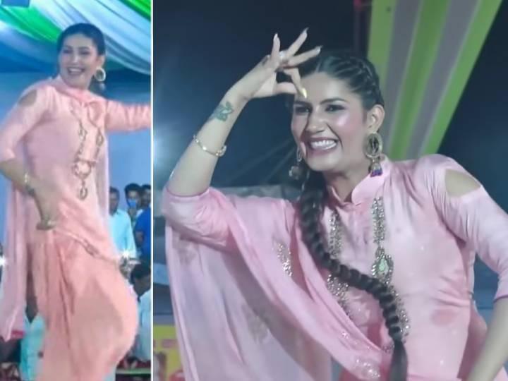 Sapna Choudhary Danced on Daroga ji song, fans liked her style of dance again