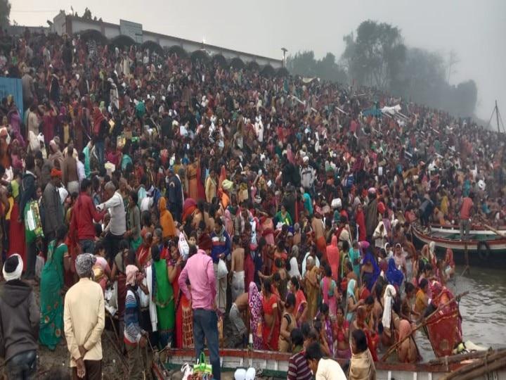 Bihar: People took a dip of faith on Mouni Amavasya, bypassing Corona Guidelines ann
