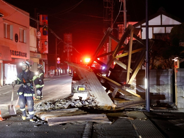 Japan Earthquake: Japan jolted with 7.1-magnitude earthquake on saturday night, terrifying videos are getting posted on social media