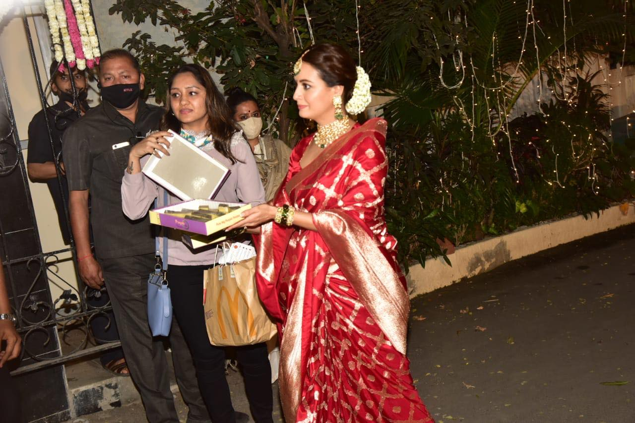 Aditi Rao Hydari plays sister-in-law at Dia Mirza's wedding, brother-in-law steals Vaibhav Rekhi's shoes