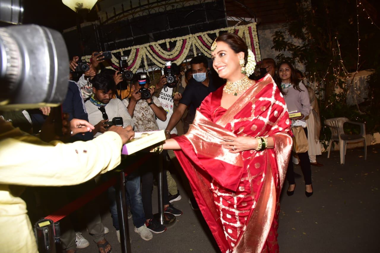 Dia Mirza signed marriage document during seven rounds, photos surfaced