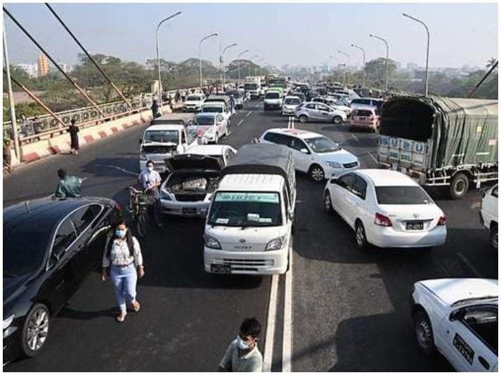 What is Myanmar's broken down car campaign
