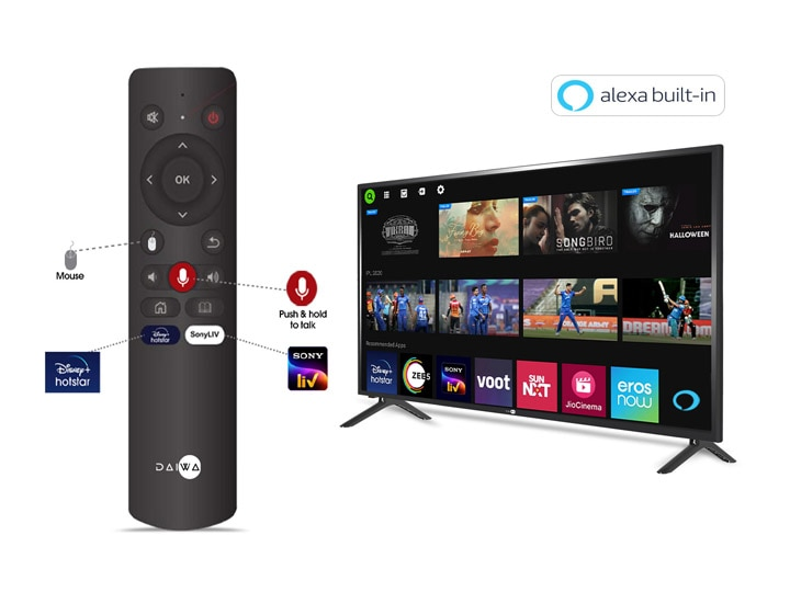 Daiwa smart TVs with Alexa built-in now available in 32-inches and 39-inches
