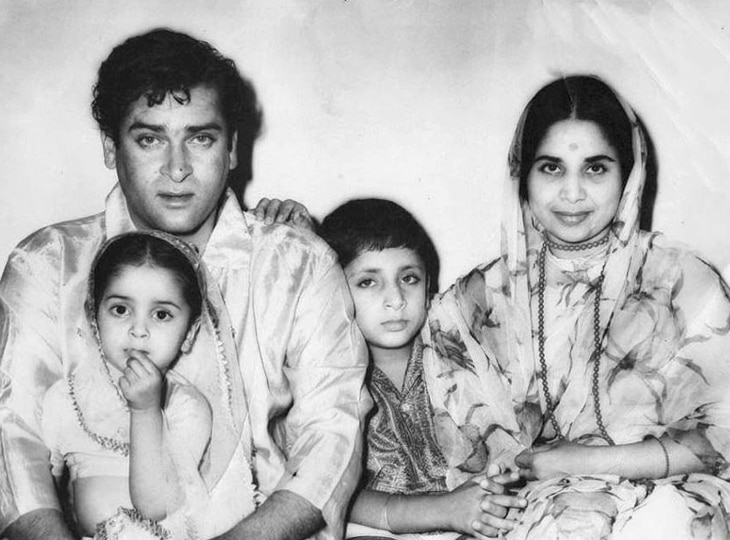 Shammi Kapoor secretly married Geeta Bali in the temple, lipstick was full