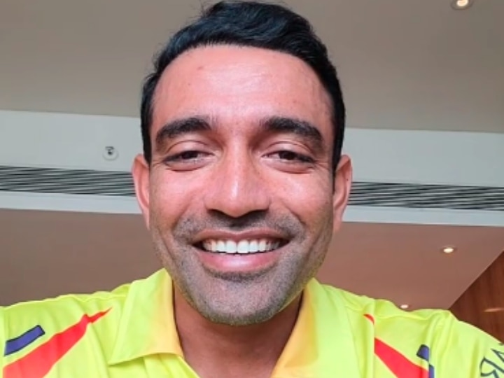 Robin uthappa released emotional message to fans in chennai by releasing video