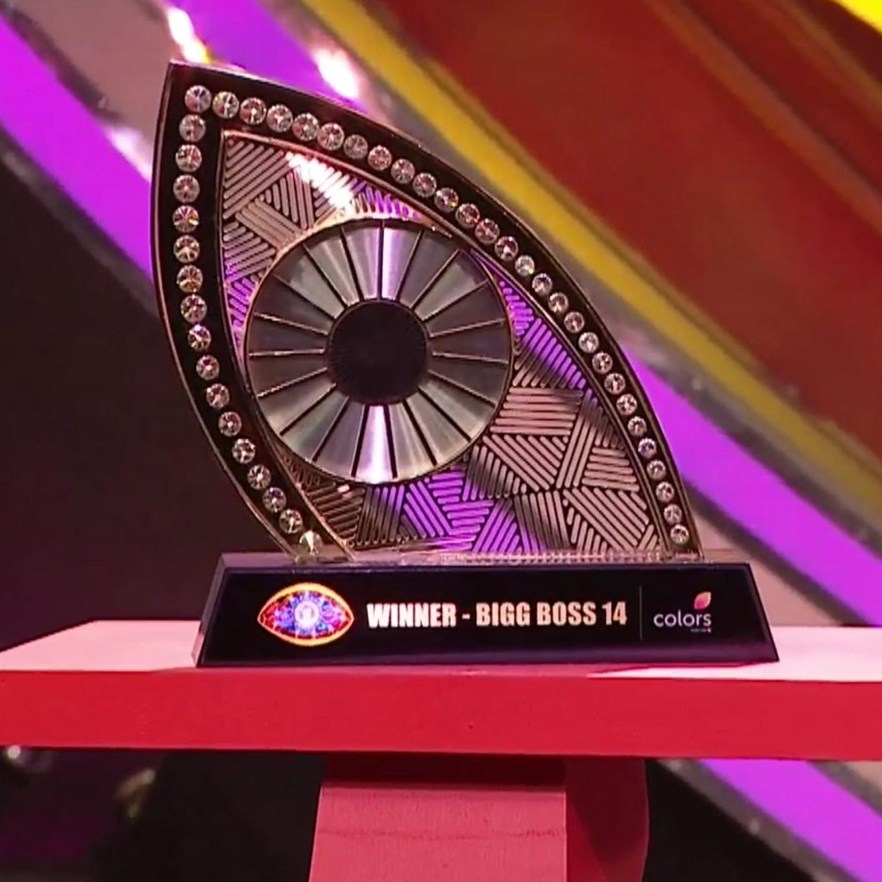 Bigg Boss 14 Winner: Rubina Dilaik reached home with a prize money of 36 lakhs with Bigg Boss trophy