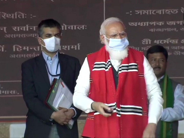 pm modi lambast previous govts for weapons import policy ANN
