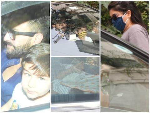 हॉस्पिटल से डिस्चार्ज हुईं Kareena Kapoor, पति सैफ और बेटे तैमूर के साथ बेबी ब्वॉय को लेकर पहुंची घर, देखें तस्वीरें