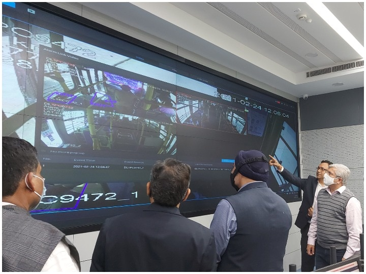Buses will travel in Delhi and buses will be monitored from the Command and Control Center with a safe, hi-tech system