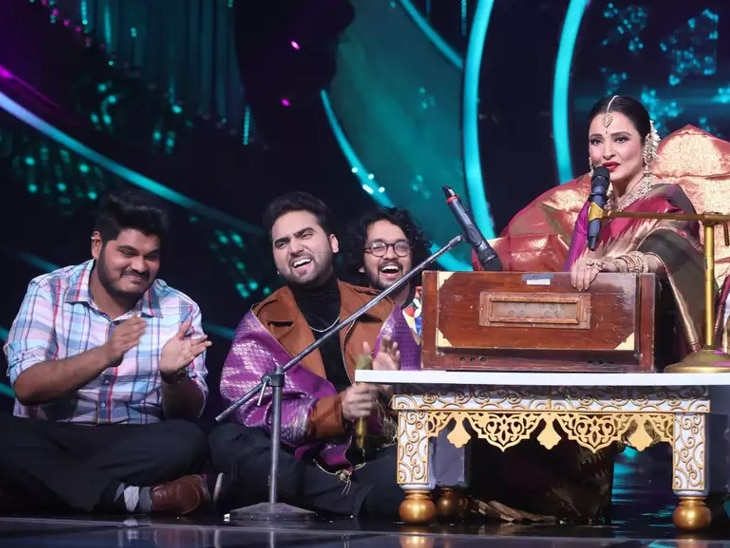 Indian Idol 12: The song sung by the contestant was filmed on Amitabh Bachchan, Rekha took the aarti for the 2000 note