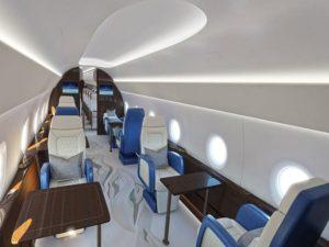 अमेरिकी राष्ट्रपति के लिए ऐसा होगा सुपरसोनिक विमान, देखें अंदर का दृश्य