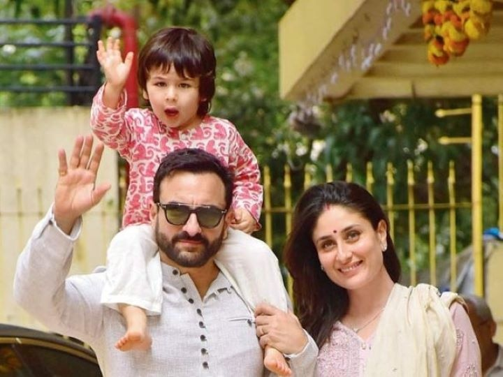 Nana Randhir Kapoor accidentally leaked a picture of Kareena's second son, see how Saifina's second sweetheart