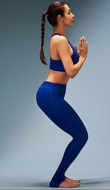 Malaika Arora shared a video on fitness tips, said- Body toned can be done with three yogasanas
