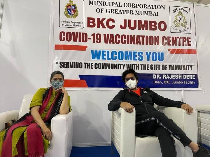 रेणुका शहाणे ने पति आशुतोष राणा संग लगवाई कोरोना वैक्सीन, शेफाली शाह ने शेयर किया 'साइड इफेक्ट सॉन्ग'