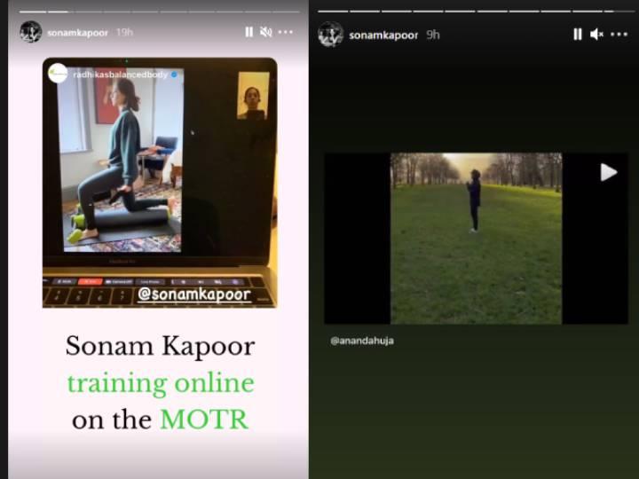 Sonam Kapoor reveals 'Lockdown Life' through pictures