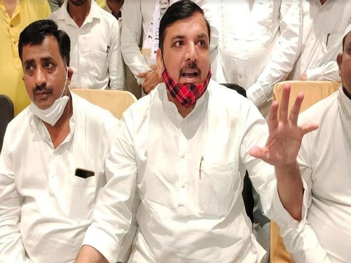 संजय सिंह ने साधा निशाना- यूपी में बढ़ रहा कोरोना संक्रमण लेकिन मुख्यमंत्री योगी आदित्यनाथ बंगाल में कर रहे हैं रैली