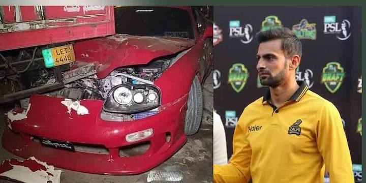 Shoaib Malik Car Accident: Pakistani cricketer Malik's car met accident in Lahore
