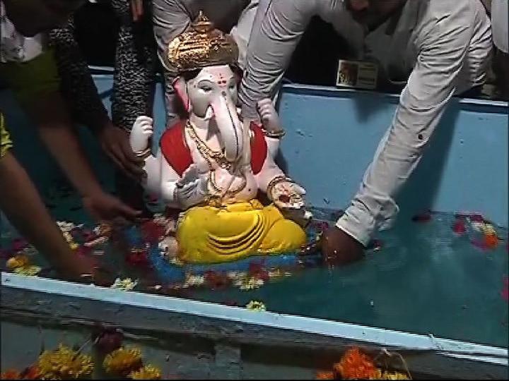 Ganeshotsav 2020 Bappa immersion is now doorstep in kolhapur