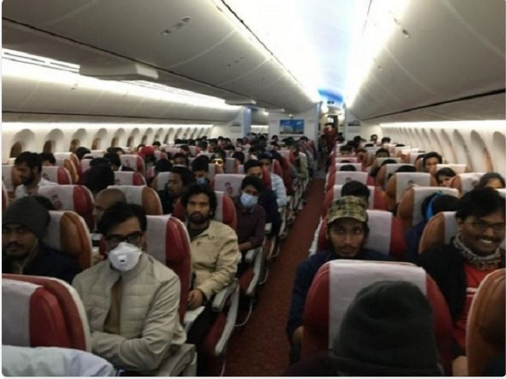 234 Indians stranded in Iran have arrived in India coronavirus