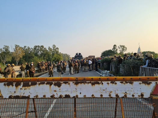 Punjab Farmer Protest LIVE: ਕਰਨਾਲ 'ਚ ਕਿਸਾਨਾਂ 'ਤੇ ਅੱਥਰੂ ਗੈਸ ਦੇ ਗੋਲੇ ਸੁੱਟੇ ਗਏ, ਦਿੱਲੀ ਦੀ ਸਰਹੱਦ ਸੀਲ