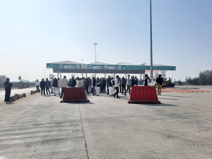 Farmers took over various toll plazas across Haryana on Friday