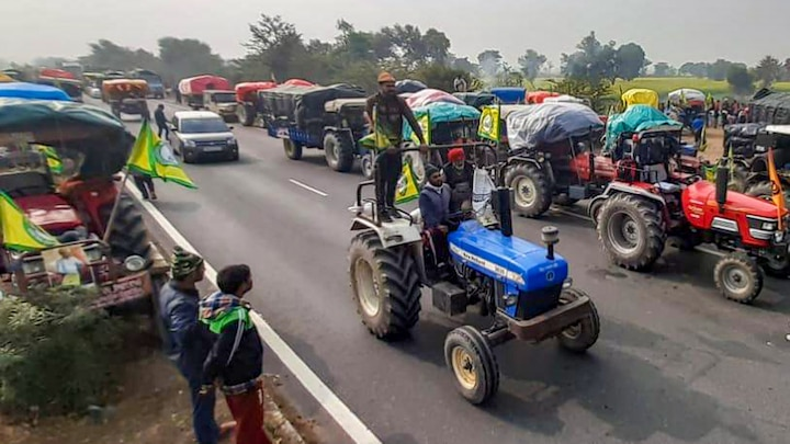Government did not permit for tractor march in Delhi Farmers announced plan