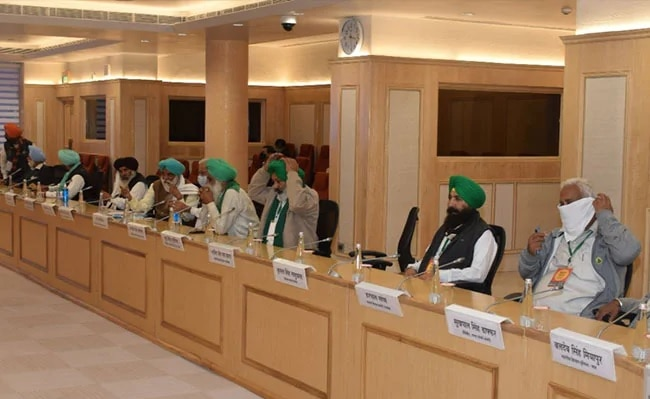 meeting between farmers and government on agriculture laws postponed on 20th January 2021