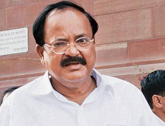 Rajya Sabha Ruckus 7 Union Ministers Piyush Goyal Naqvi met Vice President Venkaiah Naidu demand action