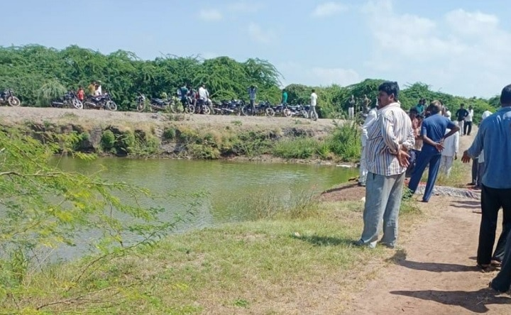 Two girl drown in ditch at Sonaradi village on Dwarka