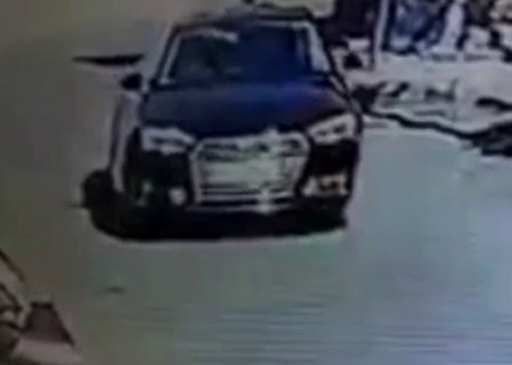 15 month boy accident in Audi Car accident at Rajkot , found cctv